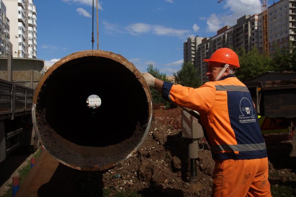 Теплоэнергетики заканчивают работы по реконструкции трубопроводов в Самаре