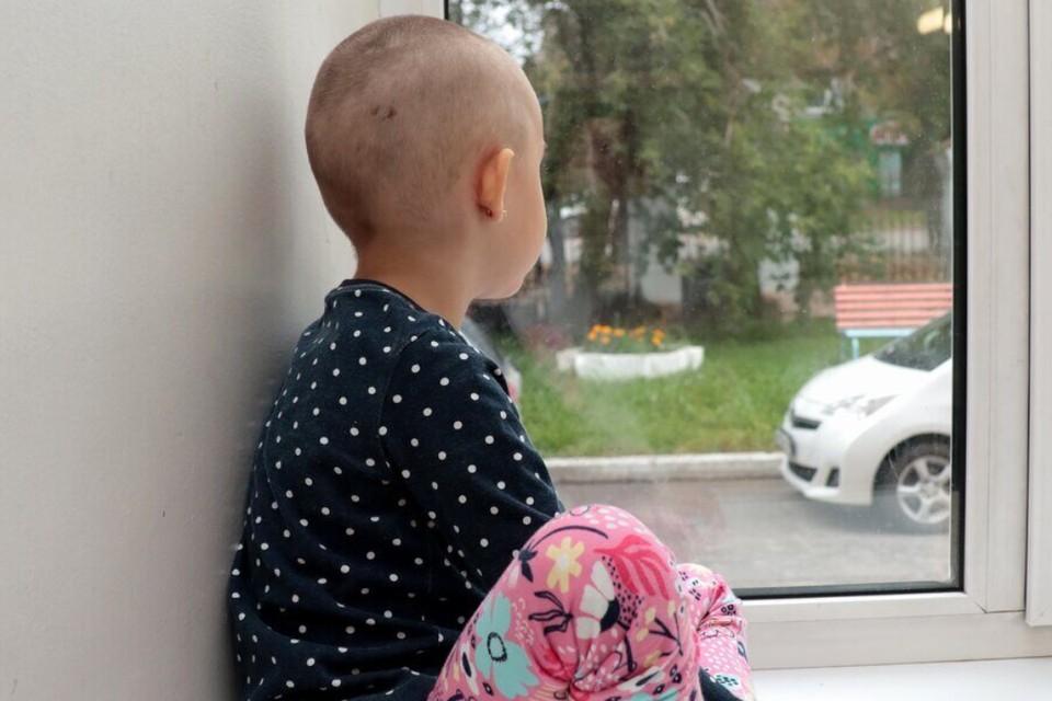 Пострадавшая девочка. Фото: пресс-служба Ивано-Матренинской детской клинической больницы.