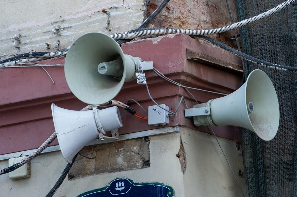 8 сентября в Петербурге включат систему оповещения населения