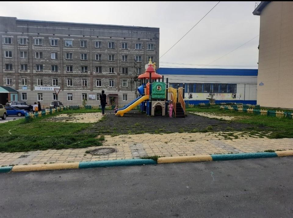 Детская площадка на Советской