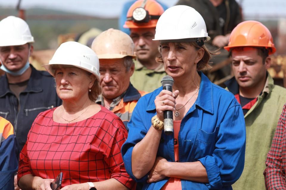 Кожемяко рассказал о новом водоводе на встрече с рабочими «ДальРао»