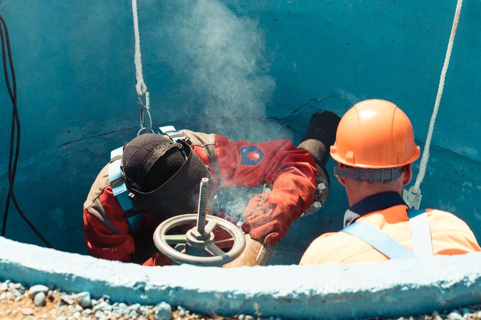 Ремонт водопровода, ориентировочно, продлится восемь часов.