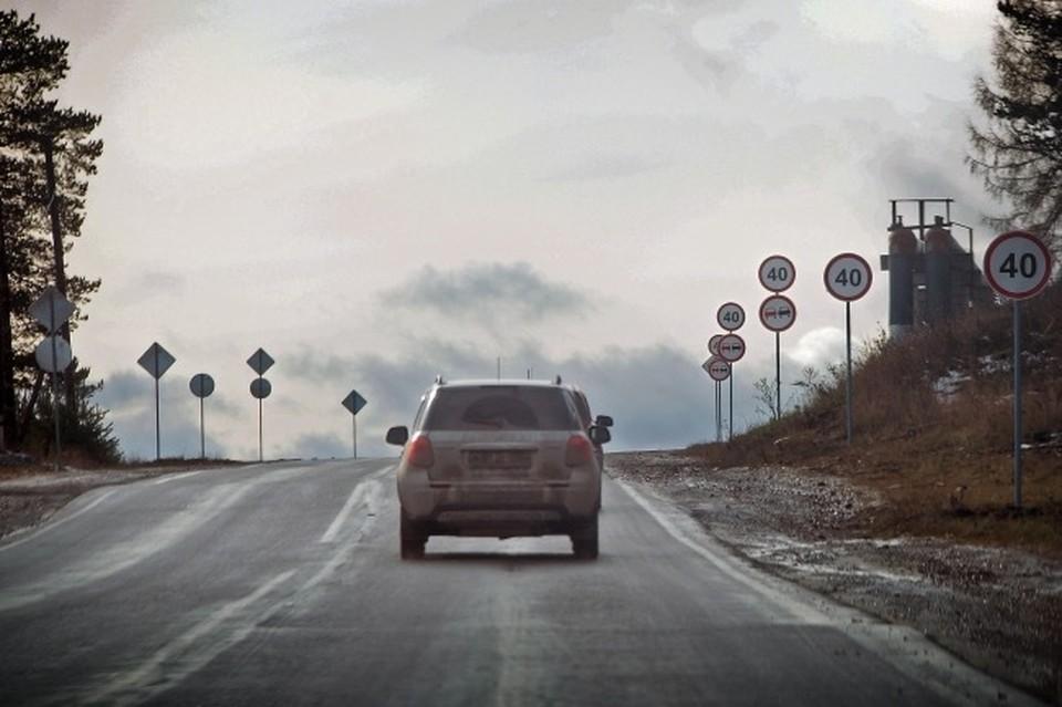 Разрешенную скорость движения транспорта по улице Дзержинского в Смоленске снизят до 40 км/ч.