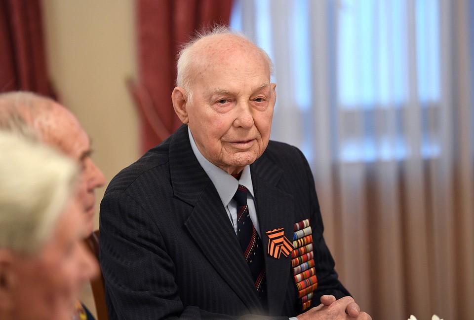 Иван Петрович отметил 96-летие