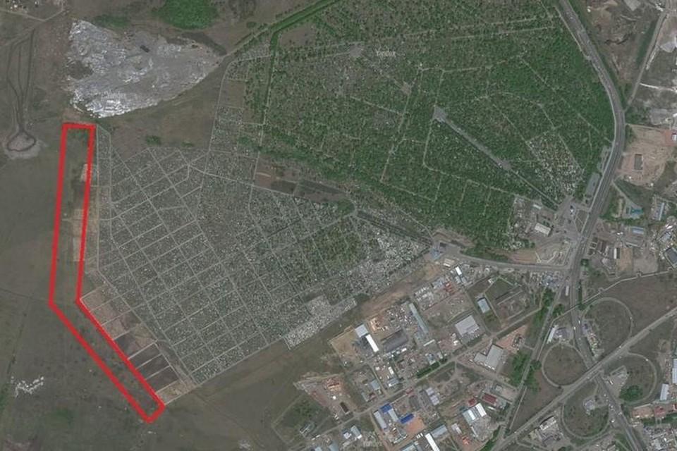 Красноярскому кладбищу Бадалык добавят новую территорию. Фото: пресс-служба Горсовета