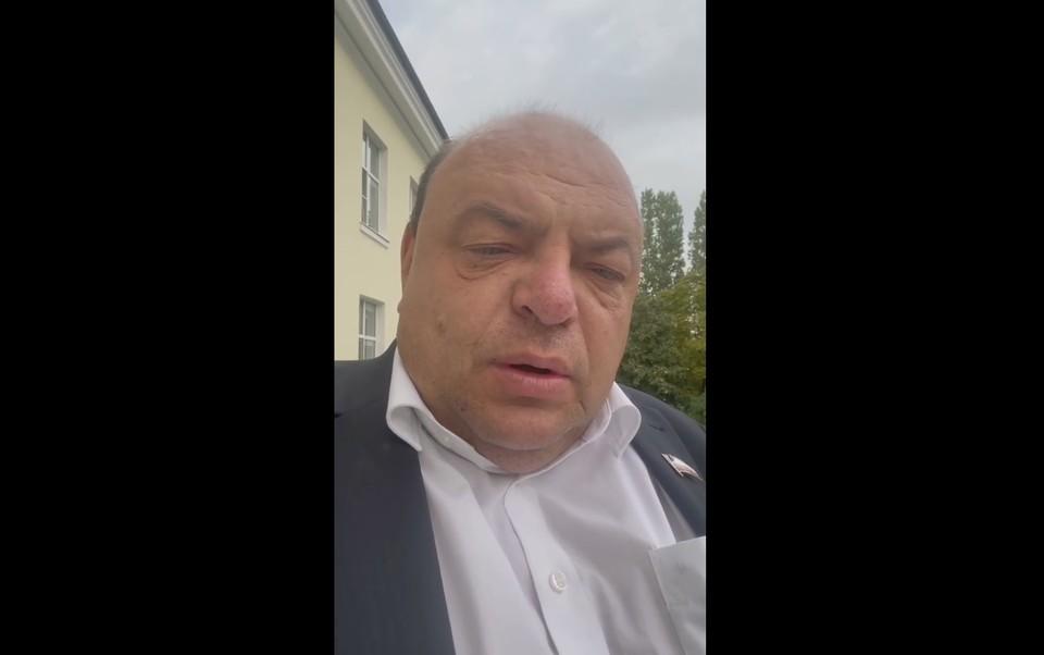 Глава минздрава Саратовской области Олег Костин