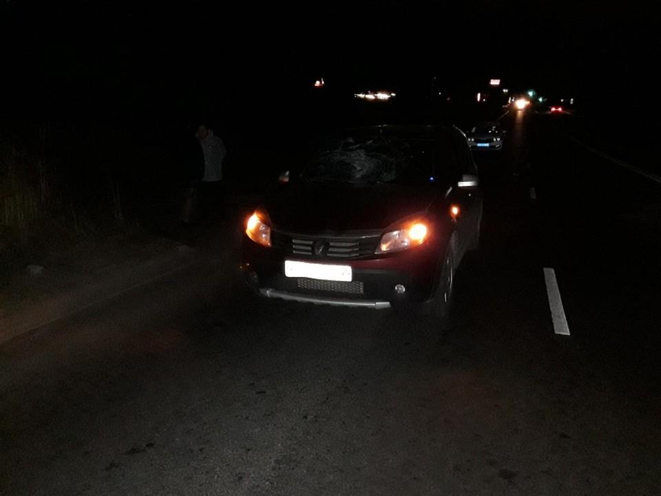 На улице Зубковой женщина на иномарке сбила 39-летнего рязанца