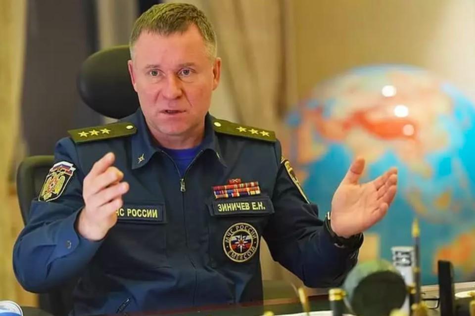 Главу МЧС Евгения Зиничева похоронят 10 сентября в Санкт-Петербурге