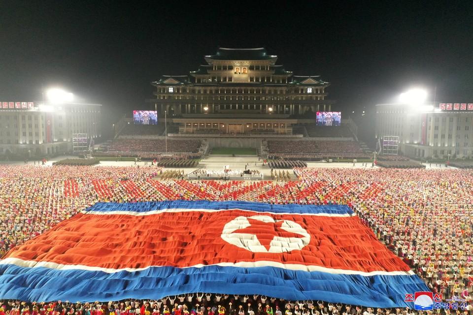 В столице КНДР прошел очередной парад в честь 73-й годовщины основания северокорейского государства.
