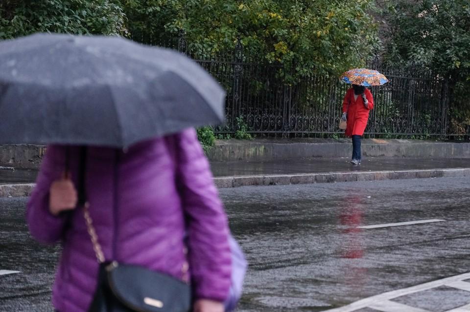 Выходные в Омске будут холодными и дождливыми.