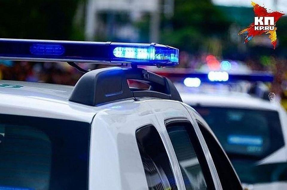 """На месте происшествия работает полиция Фото: архив """"КП"""""""