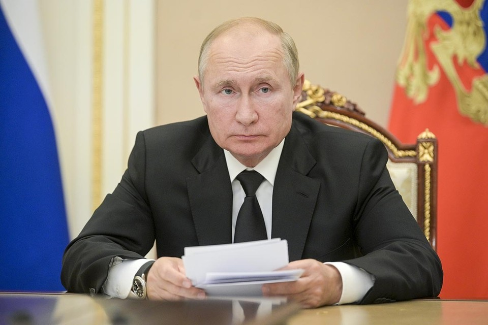 В четверг Владимир Путин принял участие в саммите БРИКС. Фото: Алексей Дружинин/пресс-служба президента РФ/ТАСС