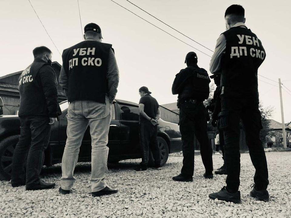 Полиция задержала 34-летнего жителя Петропавловска и изъяла у него наркотики