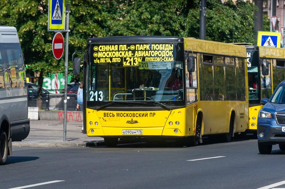 Водителям городских автобусов в Петербурге увеличат зарплату