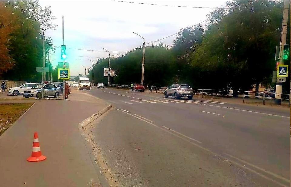 Неустановленный водитель передвигался на белом легковом автомобиле. Фото: ГУ МВД по Самарской области