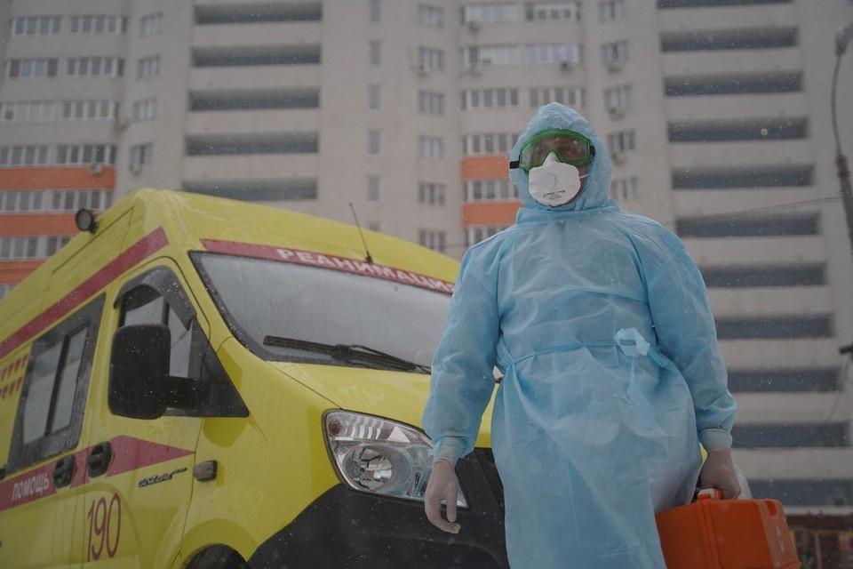 В регионе ежедневно более 400 новых заразившихся
