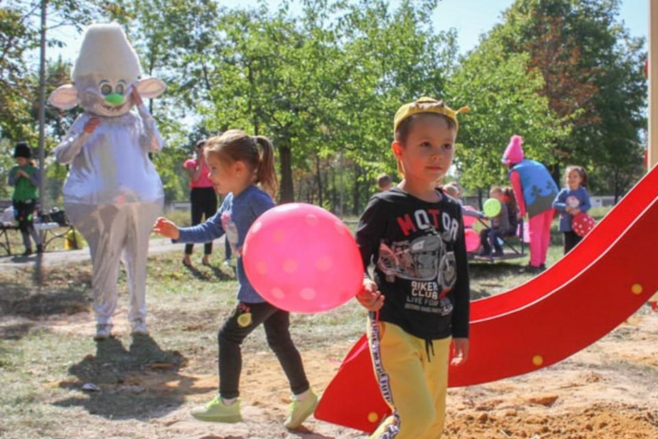 Детворе будет, где повеселиться. Фото: vk.com/makeyevka_ru