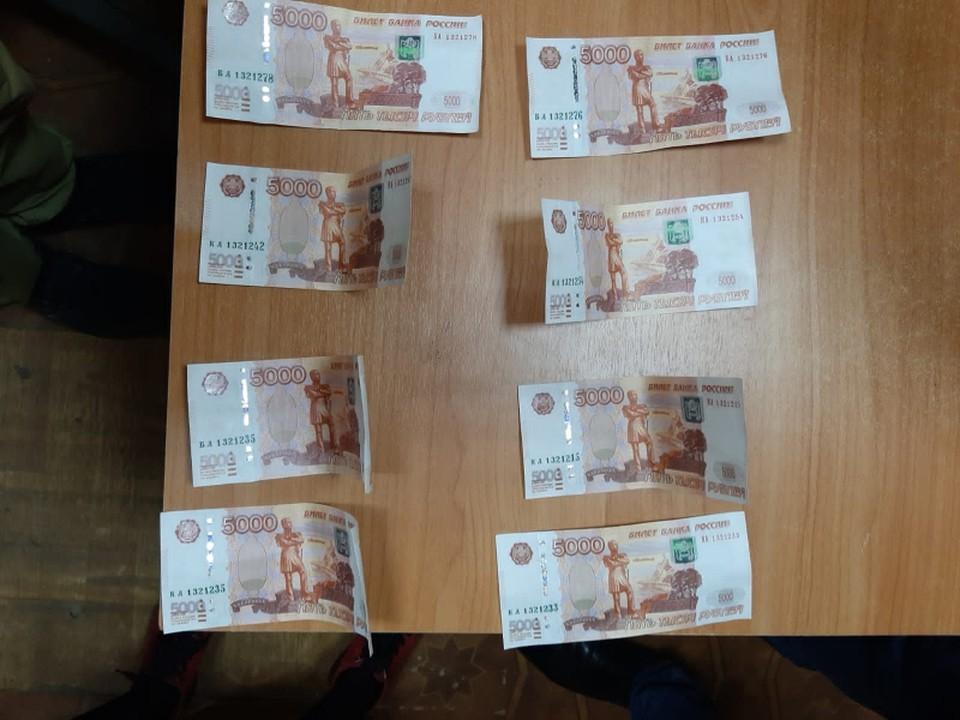 Житель Тверской области сбывал поддельные купюры в торговых точках Фото: УМВД России по Тверской области
