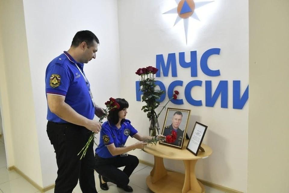 Краснодарские спасатели присоединились к ации памяти Главы МЧС