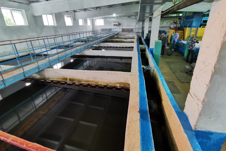 Станция водоподготовки в Углегорске