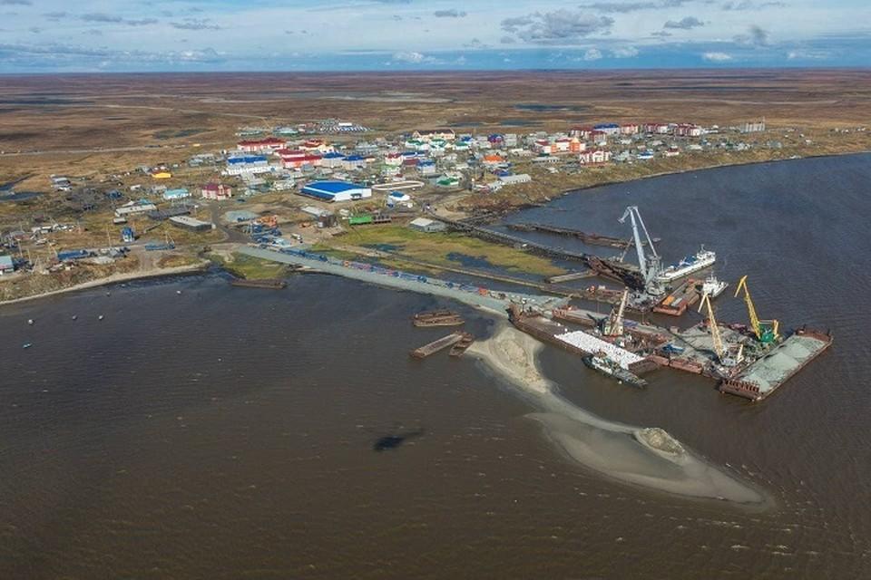 Новый порт отмечает столетие. Фото: администрация Ямальского района