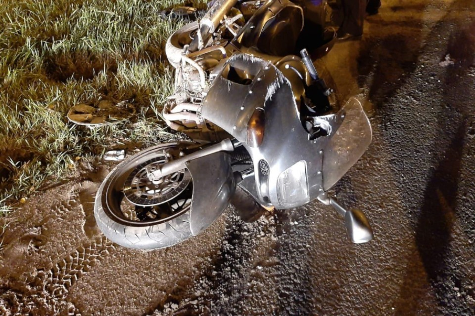 Авария произошла на 158 км трассы М10 в направлении Москвы. Фото: УГИБДД по Тверской области