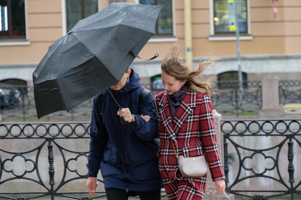 В Петербурге ожидается усиление ветра.