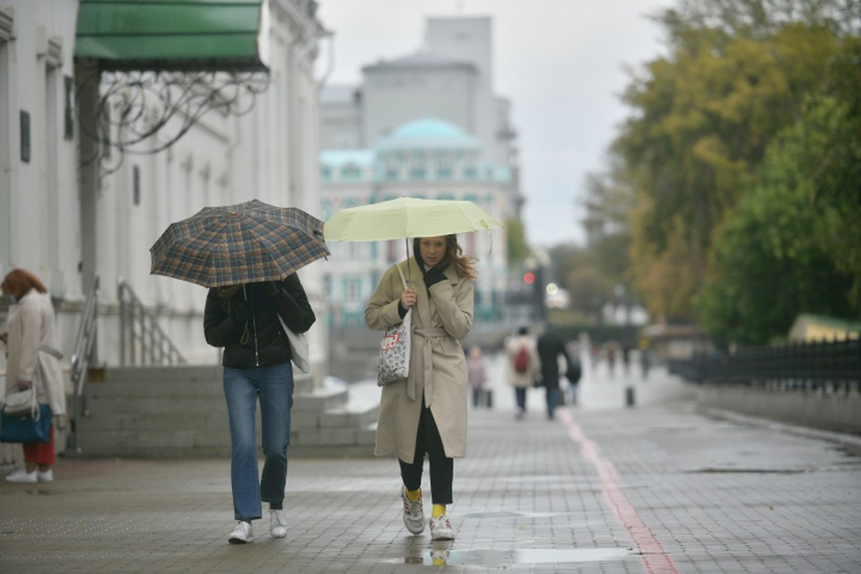 Предстоящая рабочая неделя будет дождливой и прохладной - отчасти.