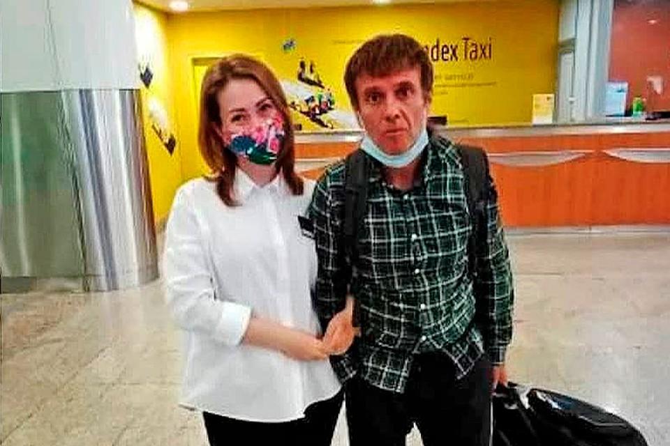 Недавно Андрей Губин вернулся в Россию из Египта, где активно лечился.