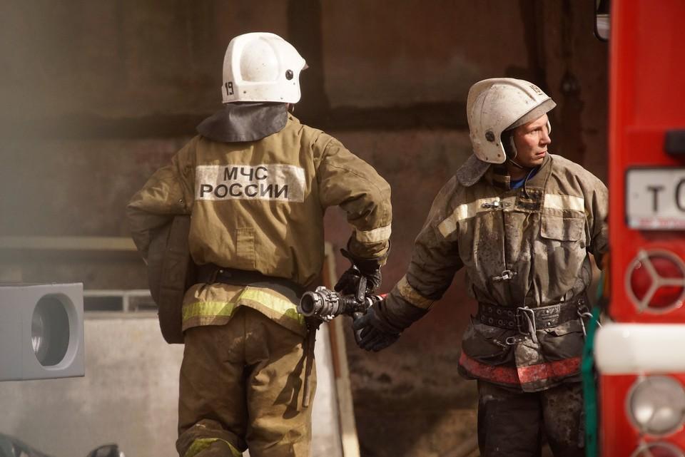 Локализовать огонь пожарным удалось спустя 15 минут
