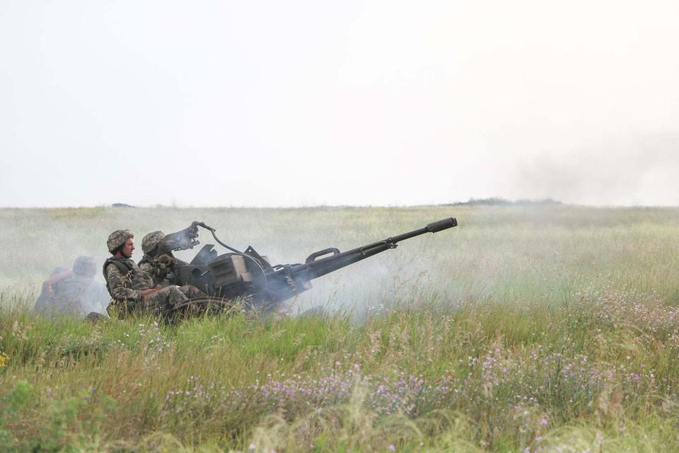 ВСУ не прекращают обстрелы. Фото: штаб ООС