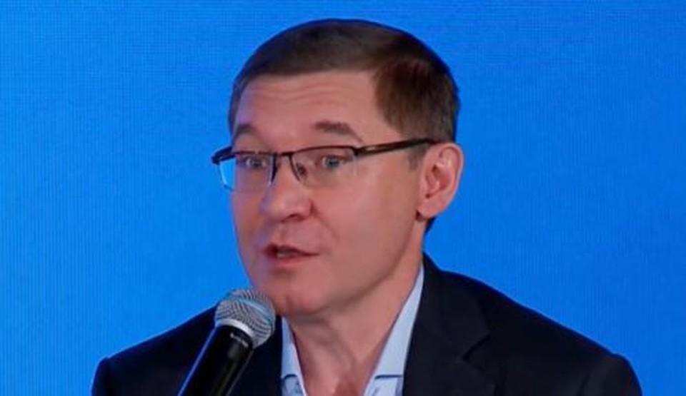 Владимир Якушев рассказал об особенностях выборов 2021 года. Скриншот из видео.