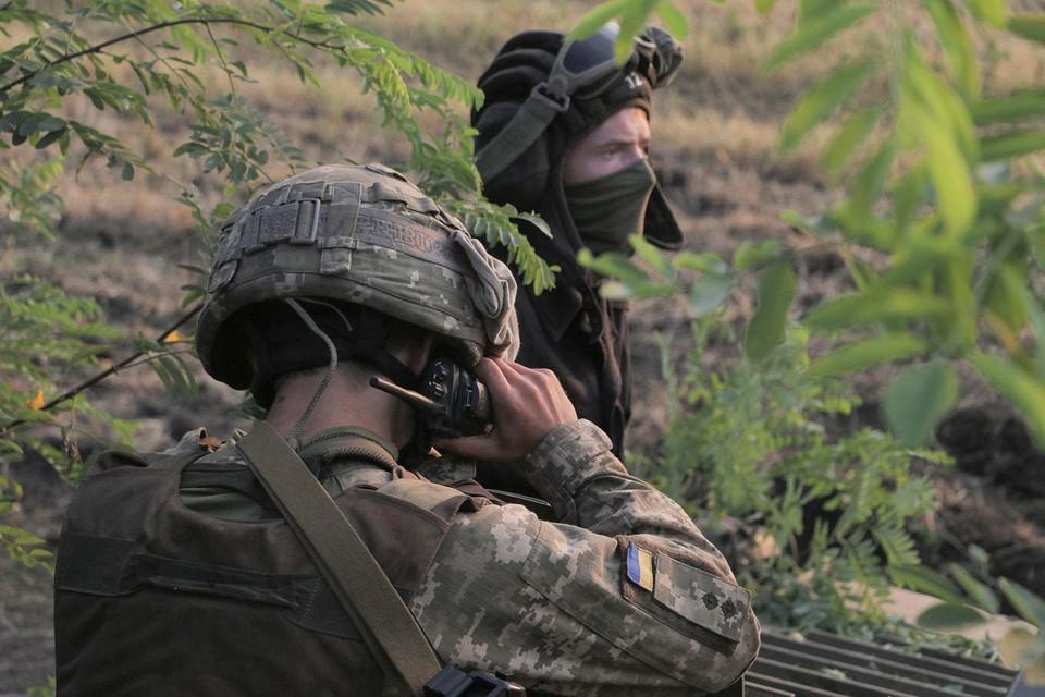 ВСУ продолжают обстрелы. Фото: штаб ООС