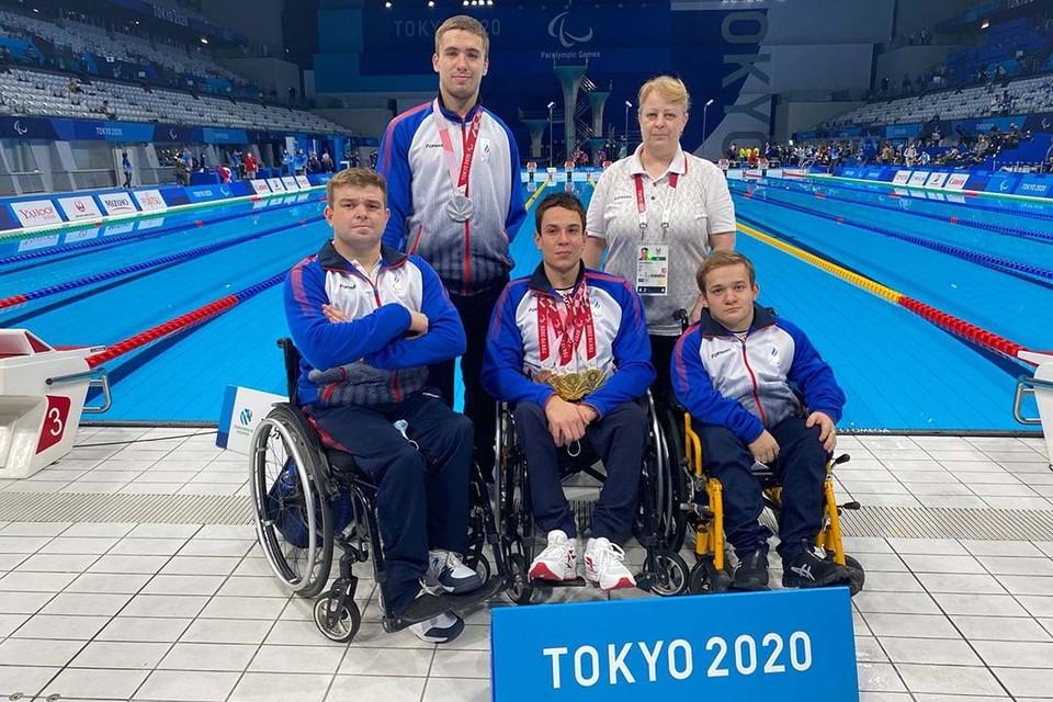Алтайские пловцы-паралимпийцы в Токио