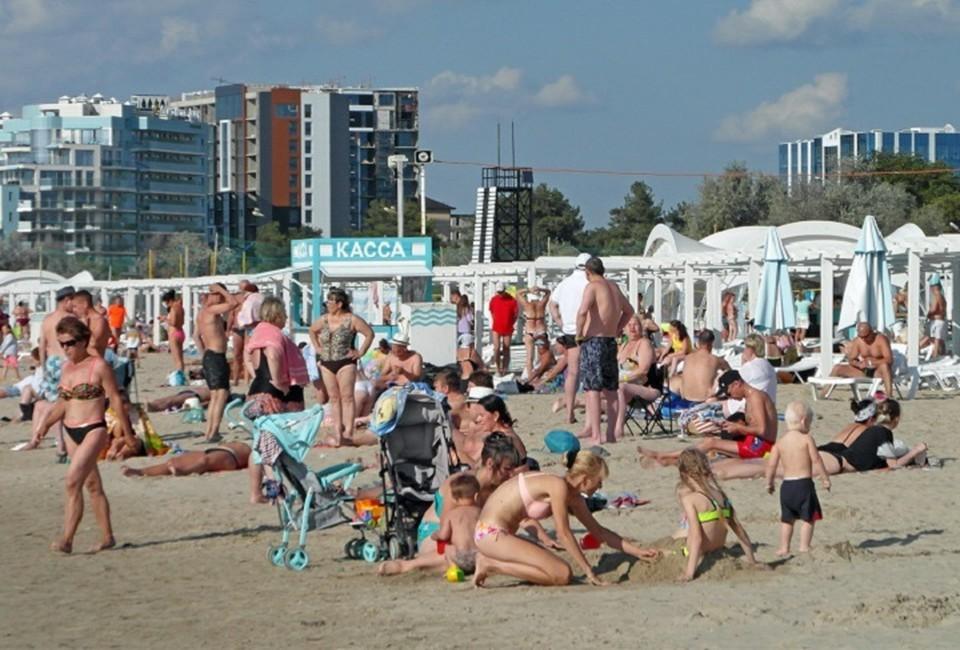 Пляжи курорта вновь полны