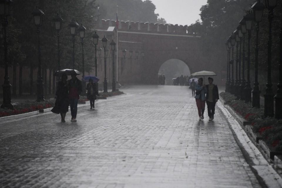 Москвичей предупредили о порывистом ветре и дожде 13 сентября 2021 года