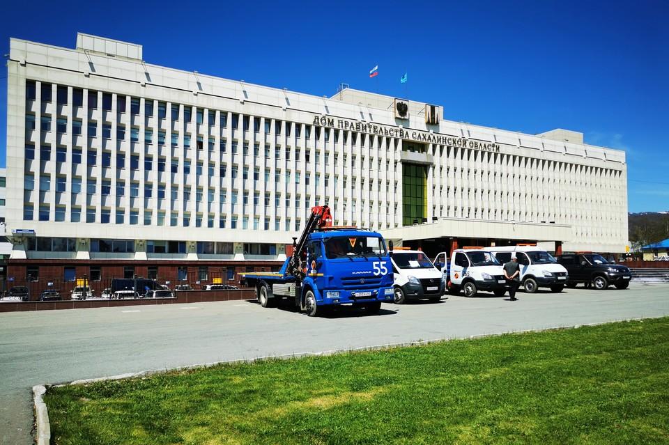 Здание правительства Сахалиской области