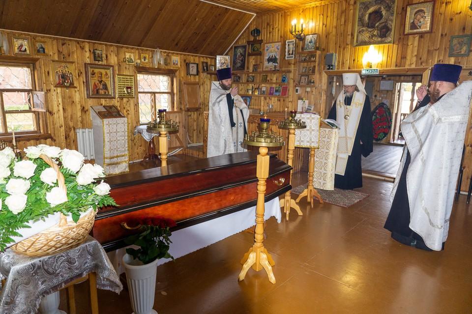 Рязанского священника похоронили в закрытом гробу и с воинскими почестями. Фото: Рязанская епархия.