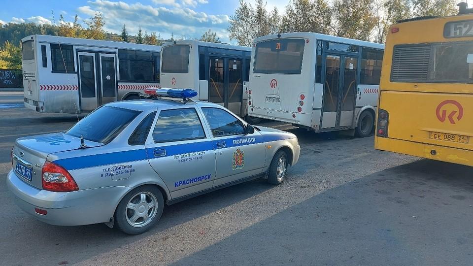 В Красноярске по вине водителей автобусов с начала года произошло 45 ДТП. Фото: ГИБДД Красноярск