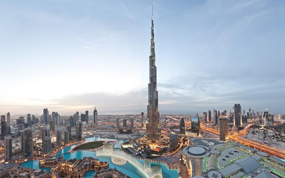 «Бурдж-Халифа» в Дубае.