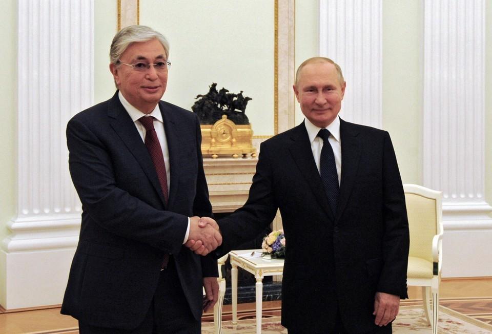 Президенты Казахстана и России проводили личную встречу в августе 2021 года