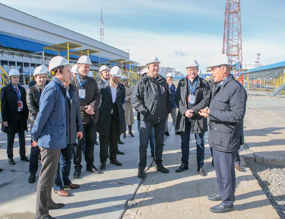 Делегация представителей оборонно-промышленного комплекса России посетила объекты АО «Транснефть – Сибирь»