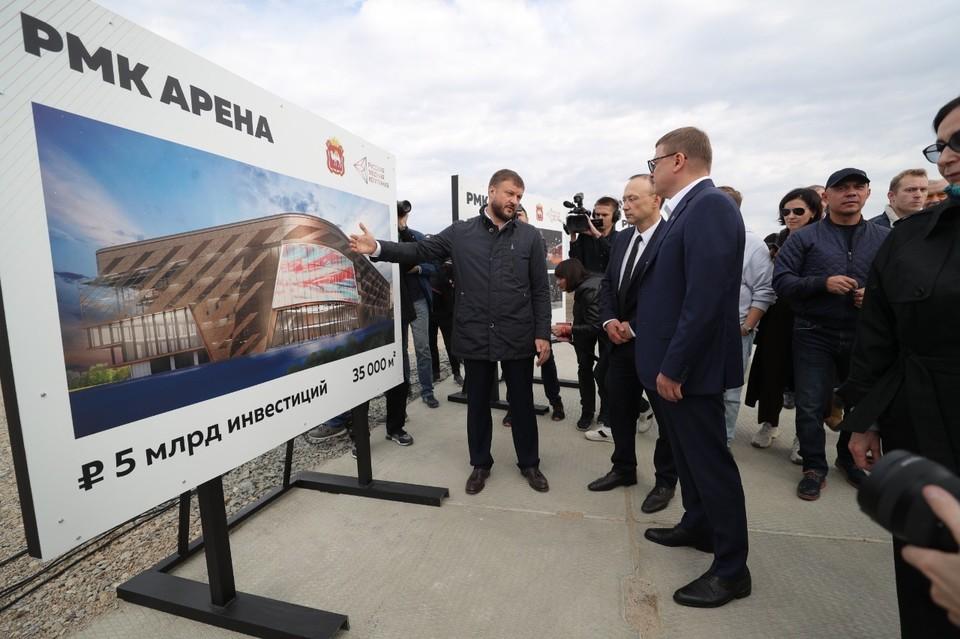 Такой будет РМК-Арена в Челябинске в 2023 году по завершении строительства. Автор фото Олег Ковалюк