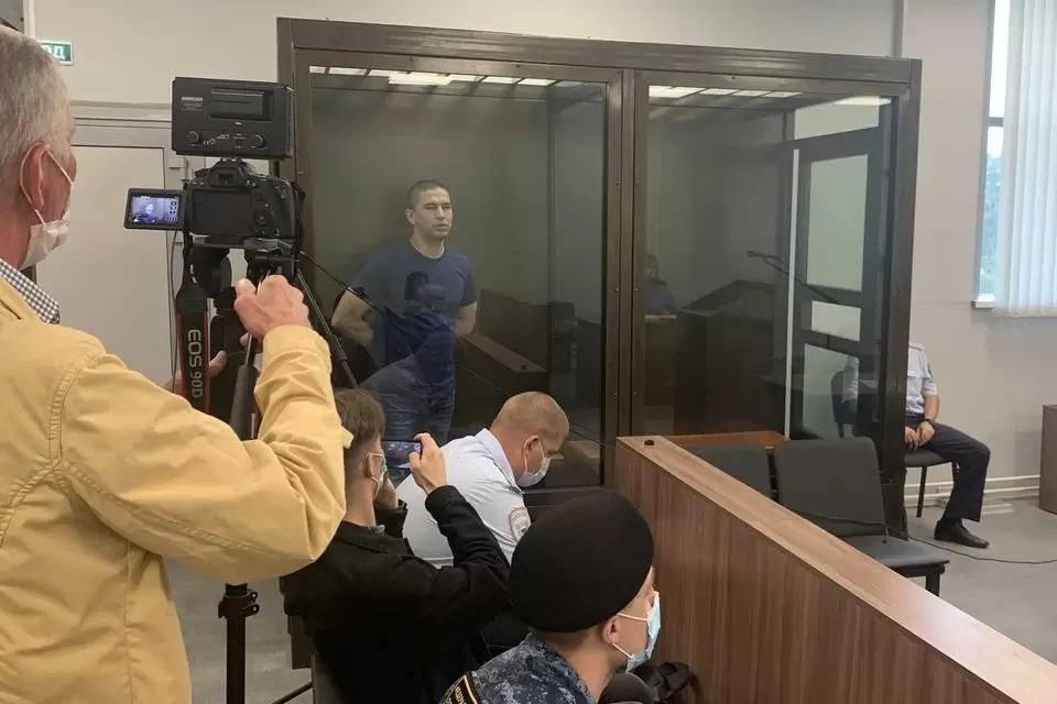 Александра Зобенкова освободили в зале суда, сразу после оглашения приговора. Фото: Тверской областной суд