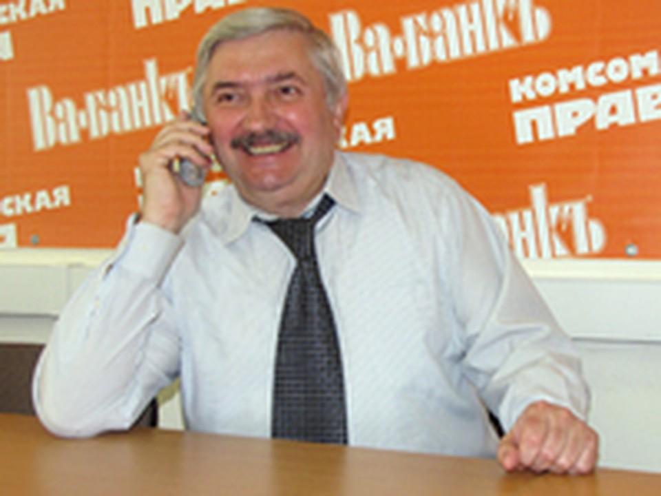 Ректор ЯГПУ Владимр Афанасьев.