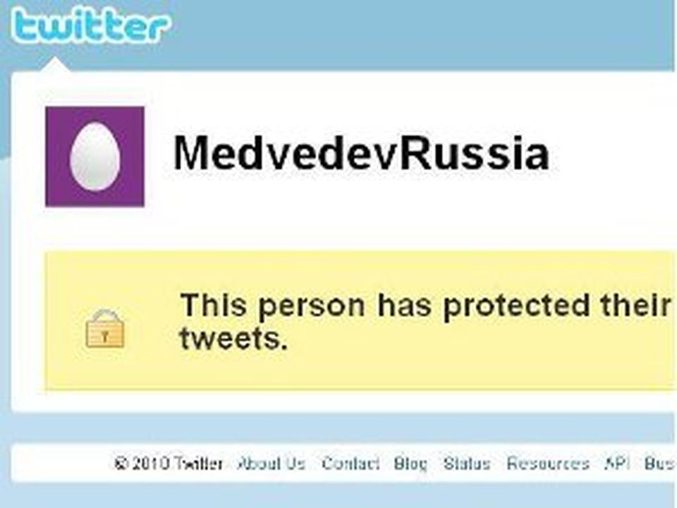 У Медведева появился новый аккаунт в Twitter