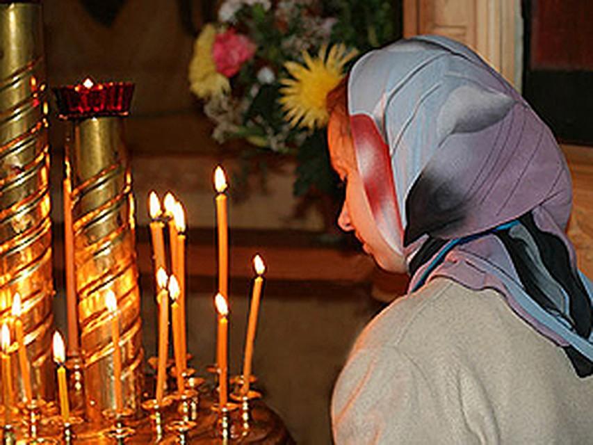 Молебен в храме от алкоголизма