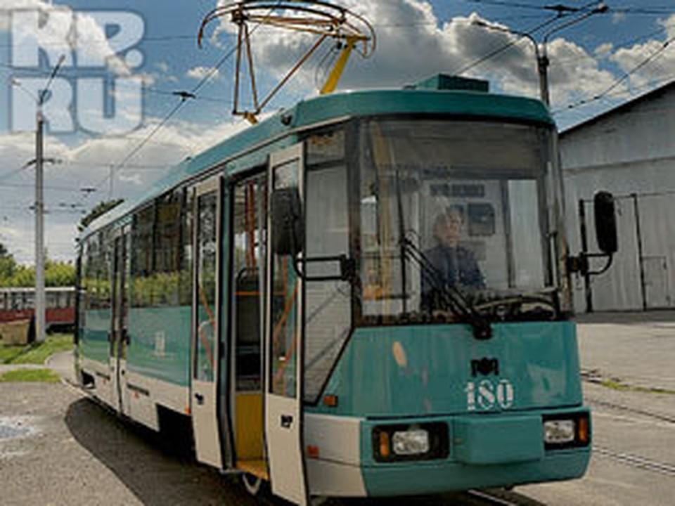 """В Кузбассе появился первый """"европейский"""" трамвай"""