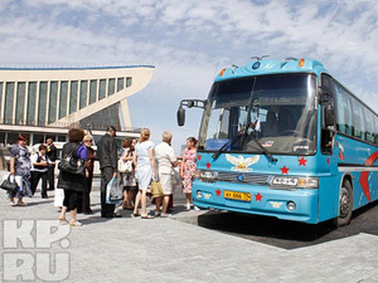 Расписание движения автобусов от ДС «Юность»