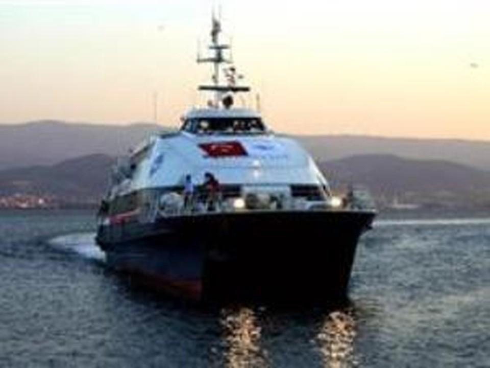 Паром захвачен в Турции